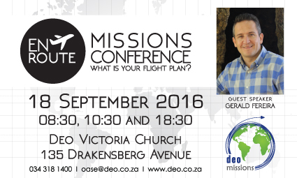 Missions Conference – Gerald Ferreira