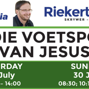 Riekert Botha – In the footsteps of Jesus – English