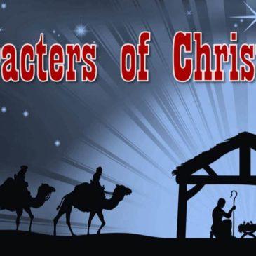 Characters of Christmas – Mary & Joseph