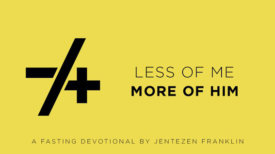 Less of me / More of Him – Direction