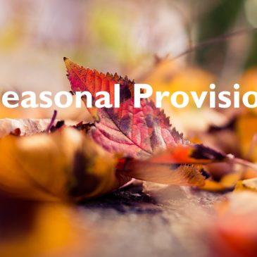 Seasonal Provision