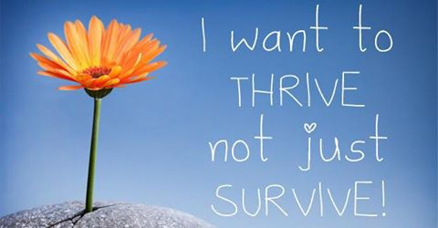 Don't just survive, THRIVE!