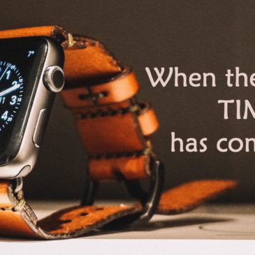 When the time has come – 3- English